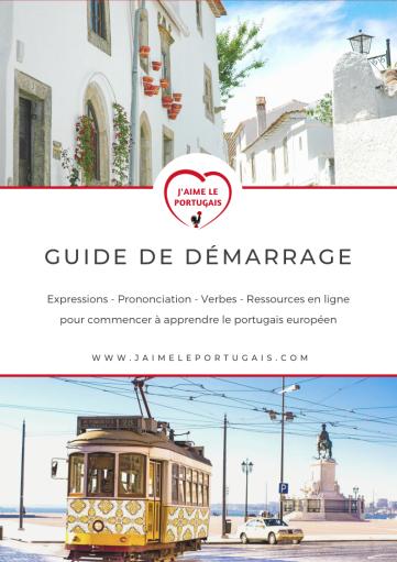 Guide de démarrage gratuit pour débutant en portugais européen (pdf)