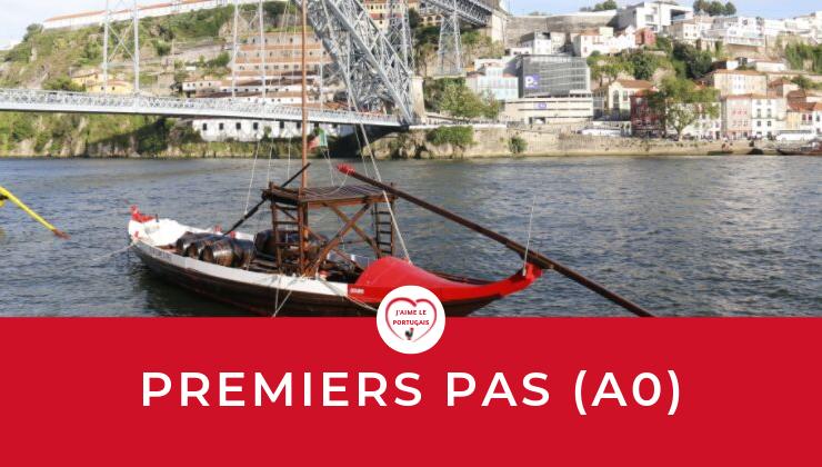 Cours en ligne gratuit pour les débutants en portugais du Portugal - Premiers pas en portugais européen (niveau A0)