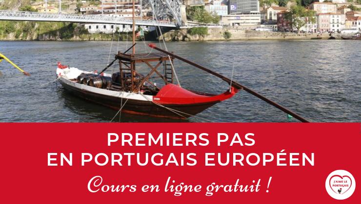 Cours en ligne gratuit pour débutants complets en portugais européen (A0) – Premiers pas en portugais européen