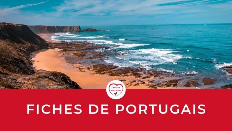 librairie des fiches pdf gratuites de portugais (inscription gratuite) : fiches de révisions et fiches d'exercices
