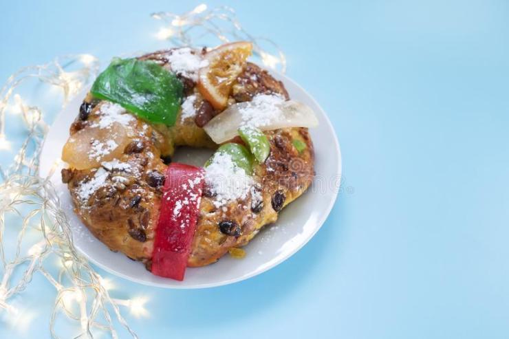 Bolo-rei - Gâteau de Noël portugais