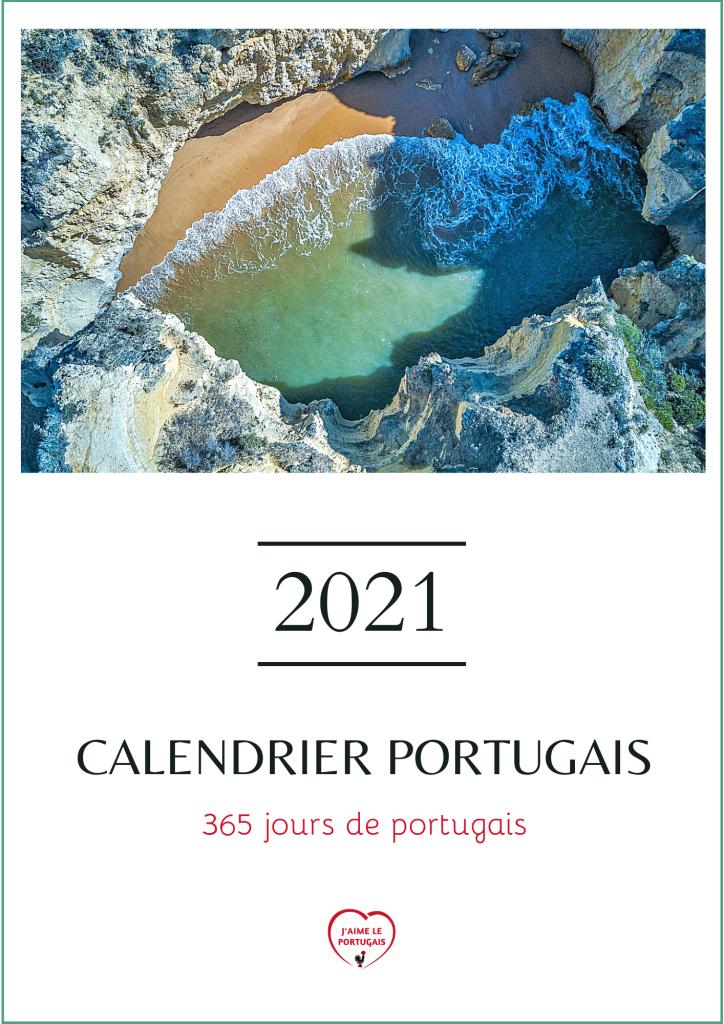 Calendrier portugais 2021 - 365 jours de portugais